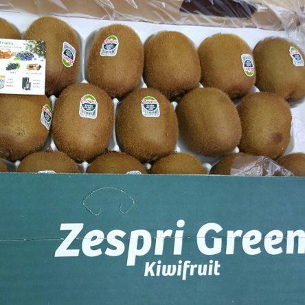 Thùng Kiwi Xanh Zespri New Zealand 10 Kg
