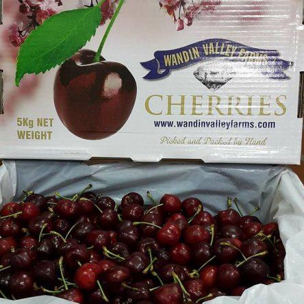 Thùng Cherry Úc 5kg